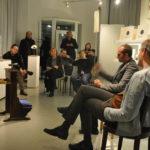 Gespräch Volkmar Klien und Peter Rantasa @SchallForm Gallery